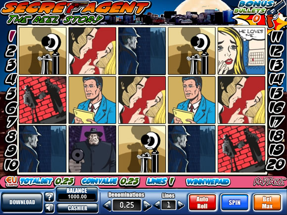 Secret Agent Slots - Review & Play this Online Casino Game