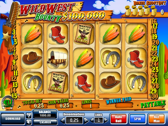 free slot machine wild west